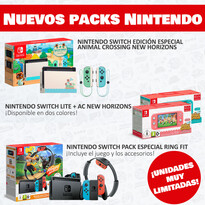 PACKS NINTENDO